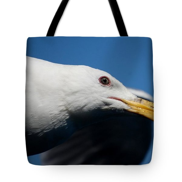 Eye Of A Seagull Tote Bag