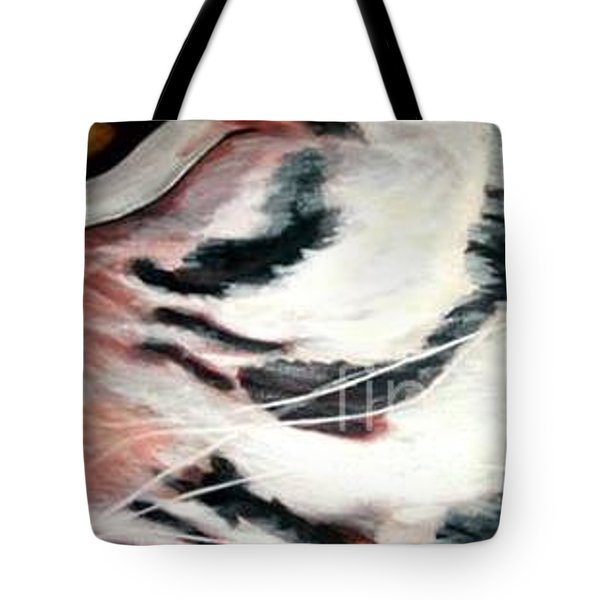 Eye Of A Tiger  Tote Bag