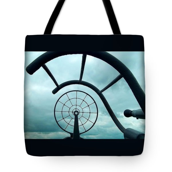 Eye Of History  Tote Bag