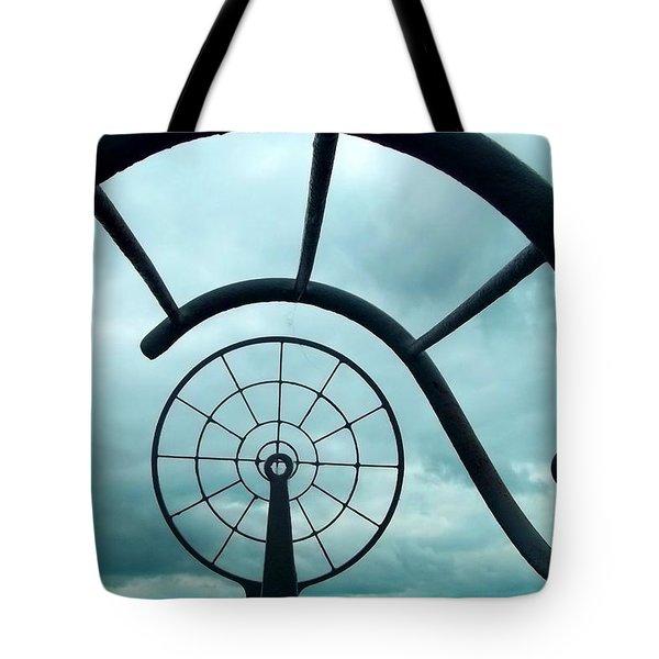 Eye Of History  Tote Bag