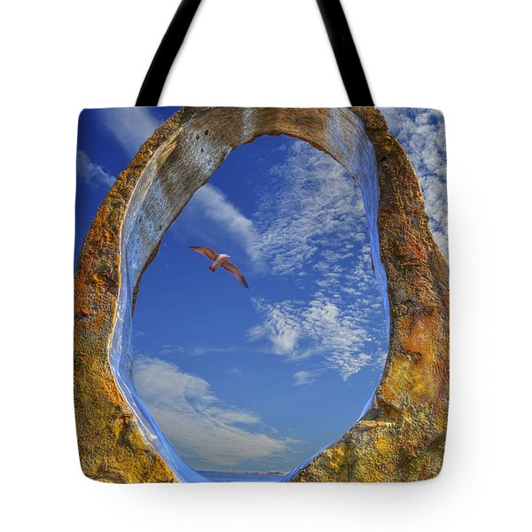 Eye Of Odin Tote Bag