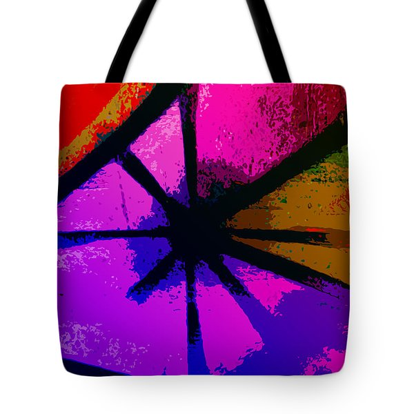 Eye Of The Beholder Tote Bag by Bill Cannon