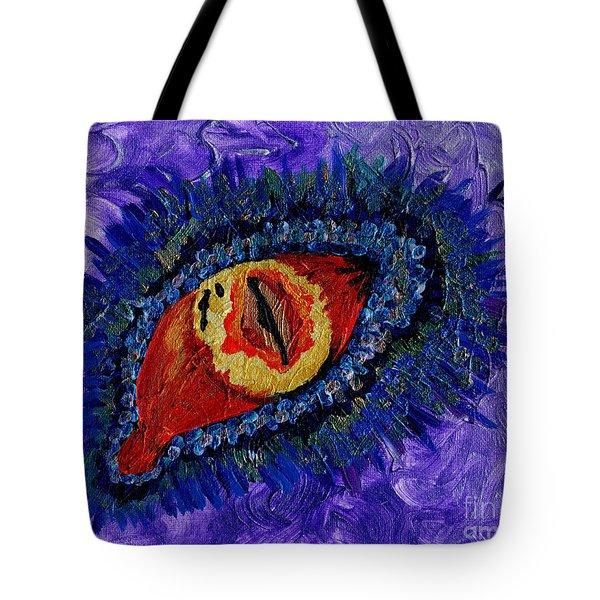 Eye Of The Dragon Tote Bag