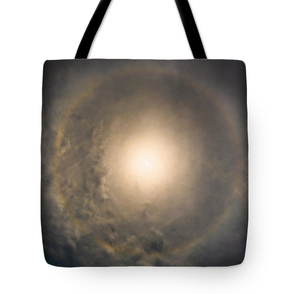 Eye Of The Eclipse Tote Bag