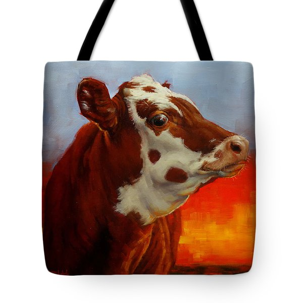 Eye Of The Firestorm Tote Bag by Margaret Stockdale