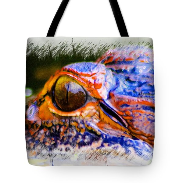 Eye Of The Gator Tote Bag
