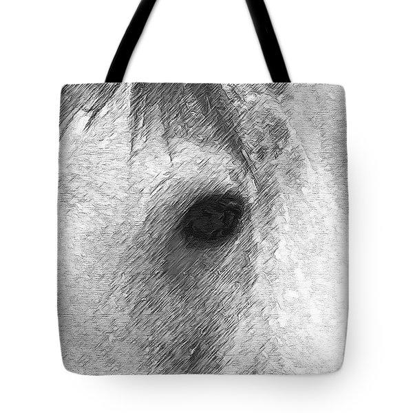 Eye Of The Horse Tote Bag