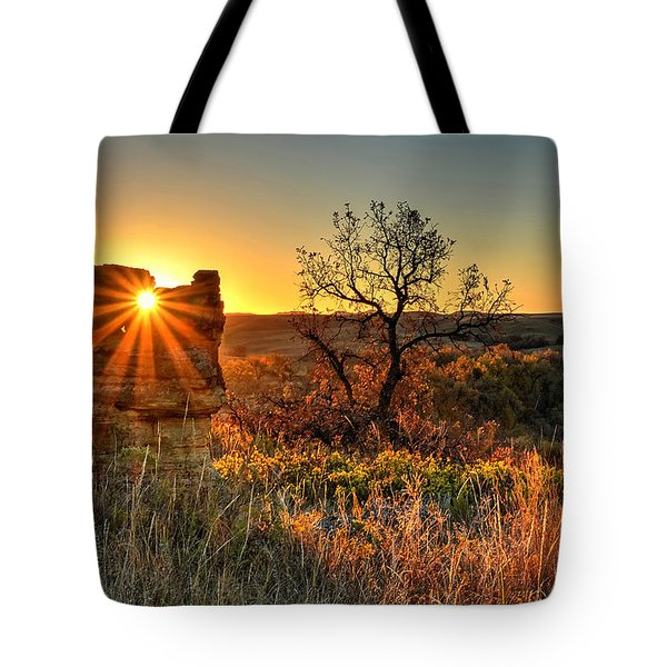 Eye Of The Monolith Tote Bag