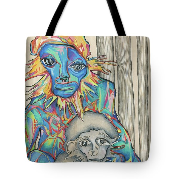 Eye Of The Storm Tote Bag