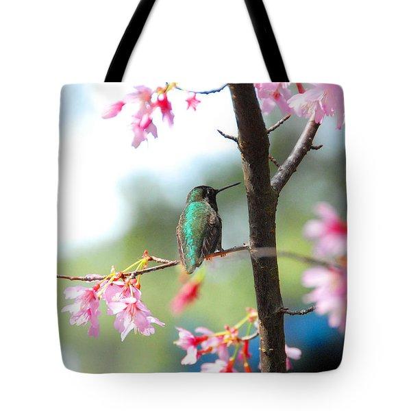 Eye On Spring Tote Bag by Lynn Bauer