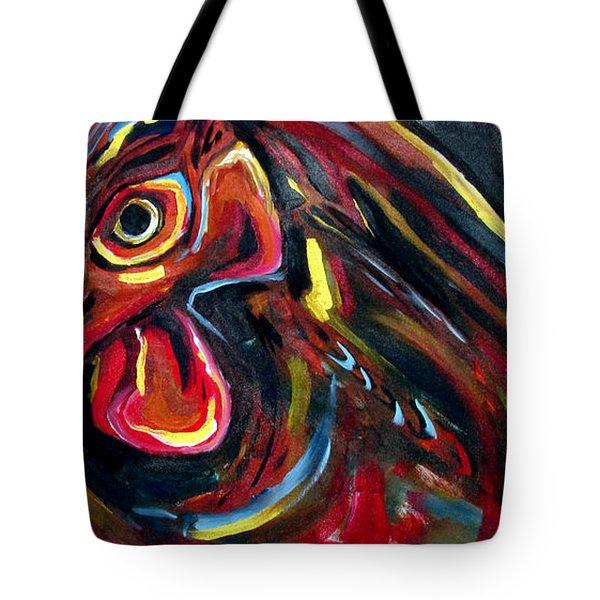 Eye Rooster Tote Bag