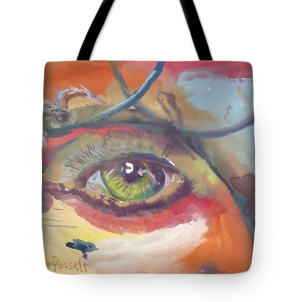Eye See A Bird Tote Bag