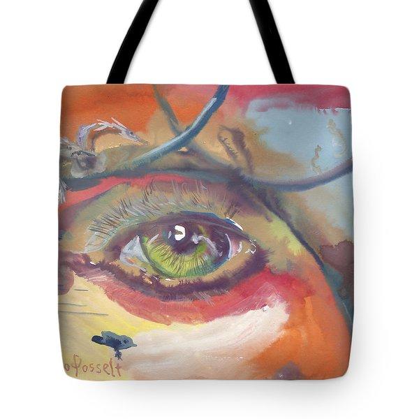 Eye See A Bird Tote Bag