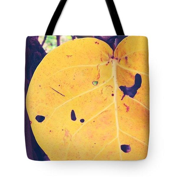 Eye See Holy Yellow Tote Bag