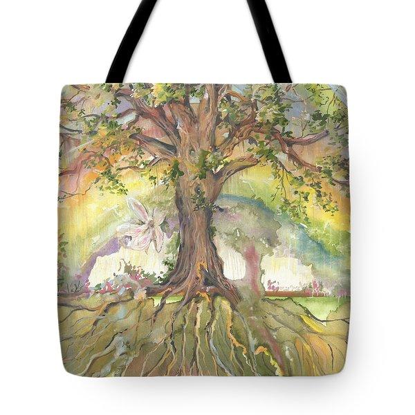 Eye See My Healing Tree Tote Bag