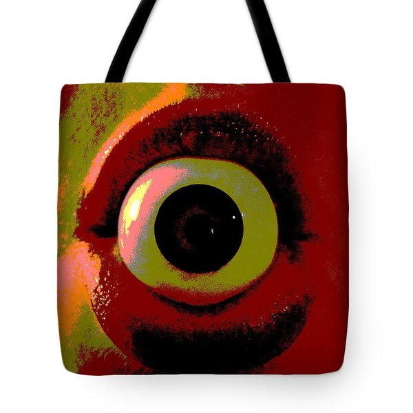 Tote Bag featuring the photograph Eye See You  by W And F Kreations
