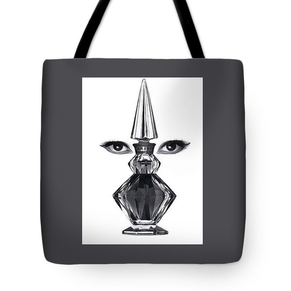 Tote Bag featuring the digital art Eye See You by ReInVintaged