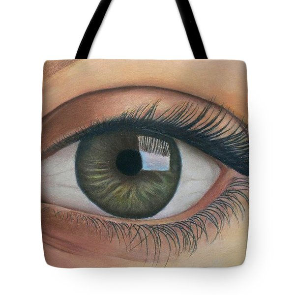 Eye - The Window Of The Soul Tote Bag by Vishvesh Tadsare