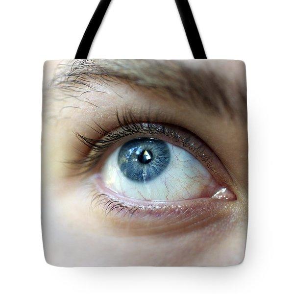 Eye Up Tote Bag