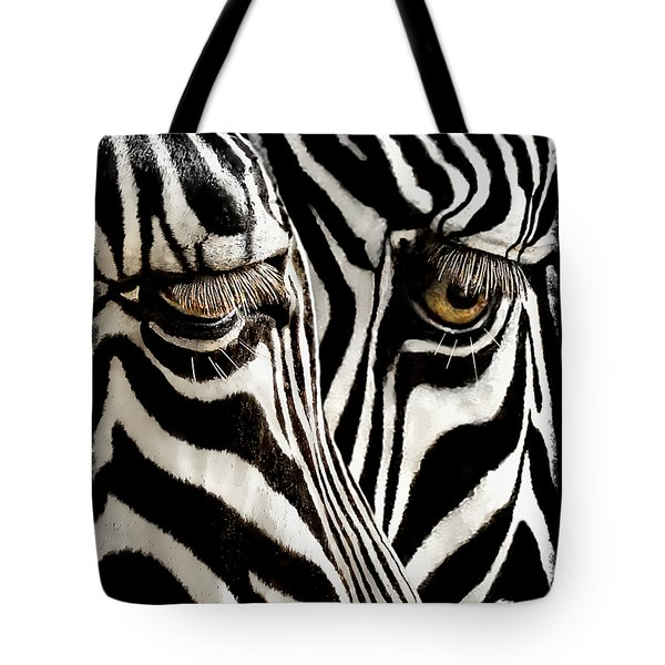 Eyes And Stripes Forever Tote Bag