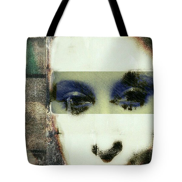 Tote Bag featuring the digital art Eyes Have It by Delight Worthyn