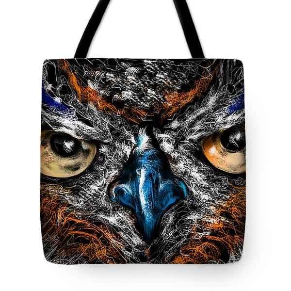 Eyes In The Night... Tote Bag
