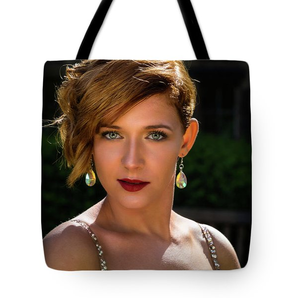 Tote Bag featuring the photograph Eyes Like Crystal by Ian Thompson
