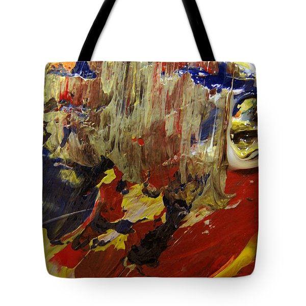 Tote Bag featuring the painting Eyes Of Narcissis by Charlie Spear