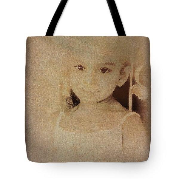 Innocent Eyes Tote Bag