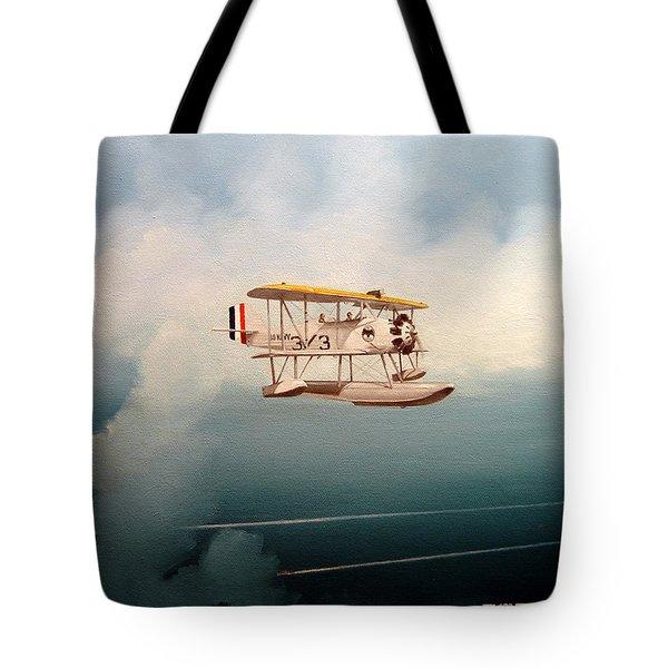 Eyes Of The Fleet Tote Bag by Marc Stewart