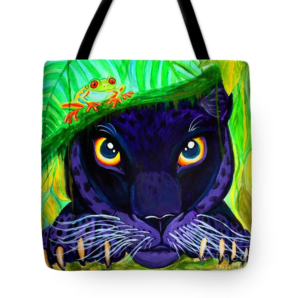 Eyes Of The Rainforest Tote Bag