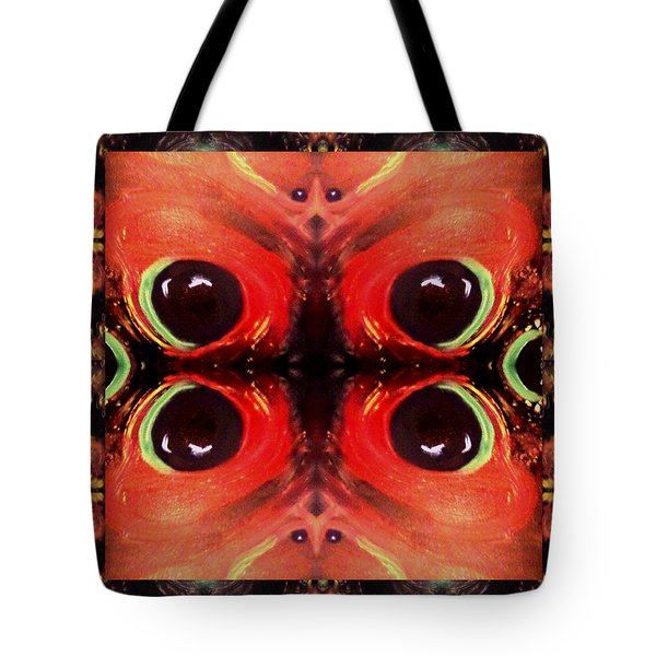 Tote Bag featuring the digital art Eyes Of The Universe # 8 by Michelle Audas