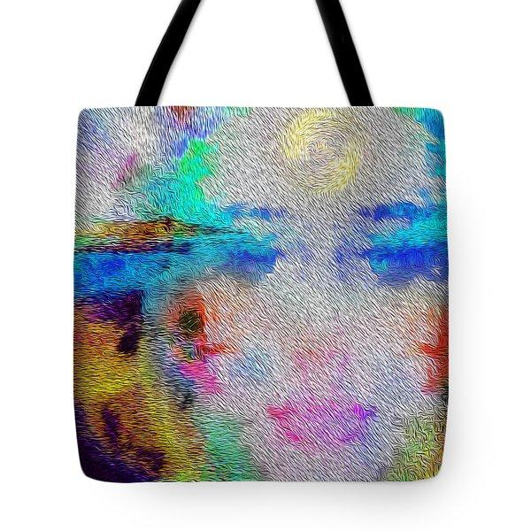 Eyes On The Horizon Tote Bag