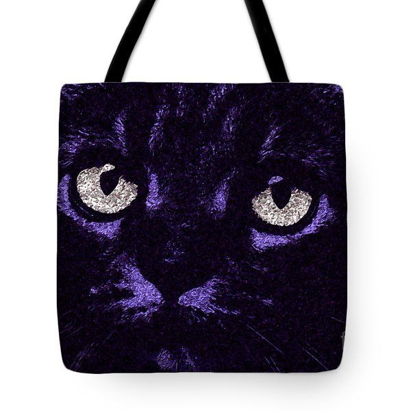 Eyes Straight To The Heart Tote Bag by Andee Design