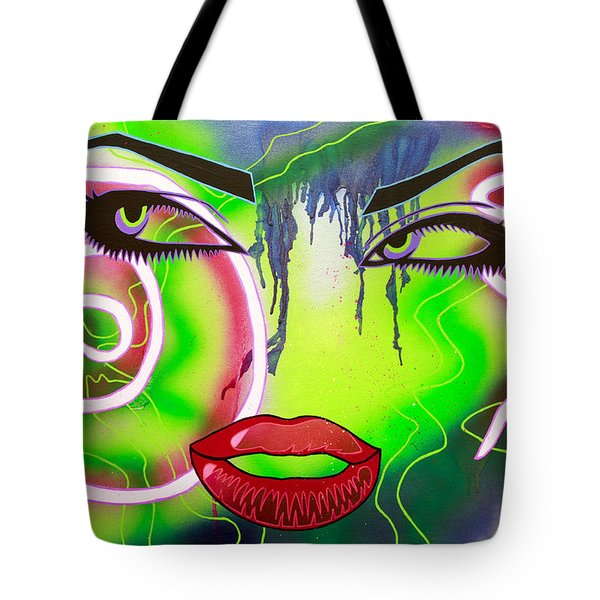 Eyes That Could Kill Tote Bag by Bobby Zeik