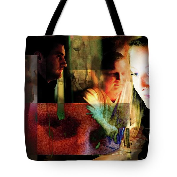 Eyes Wide Shut - Stanley Kubrick's Movie Interpretation Tote Bag