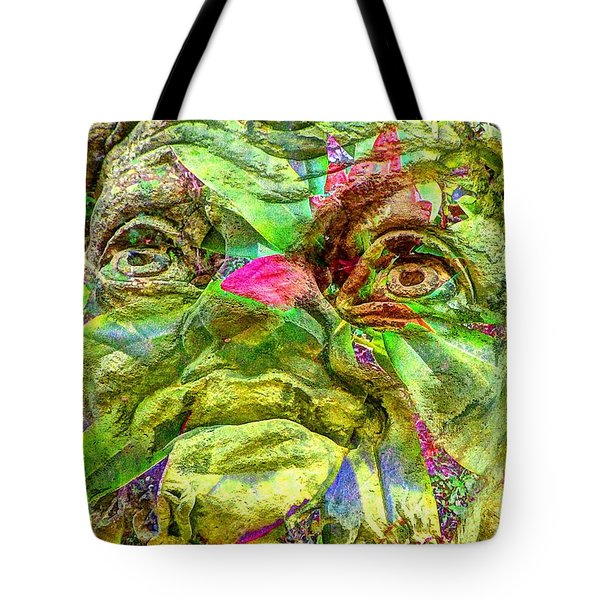 Eyes Tote Bag by Yury Bashkin