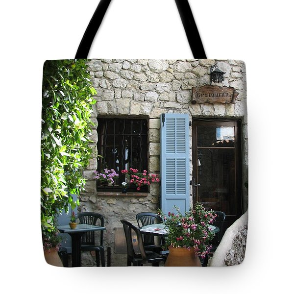 Eze Cobblestone Patio Tote Bag