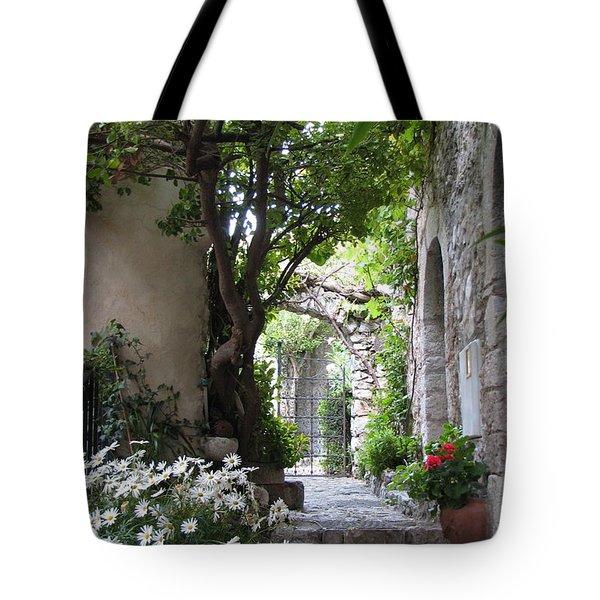 Eze Passageway Tote Bag by Carla Parris