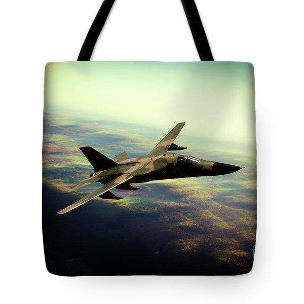 F-111 Aarvark Tote Bag