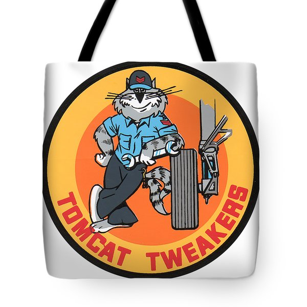 F-14 Tomcat Tweakers Tote Bag