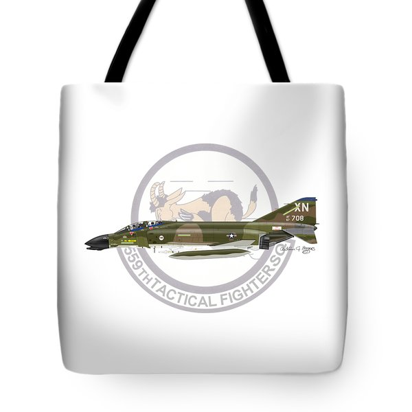 F-4d Phantom 559tfs Tote Bag