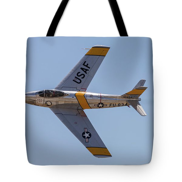 F-86 Jolley Roger Tote Bag