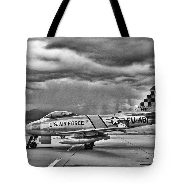 F-86 Sabre Tote Bag