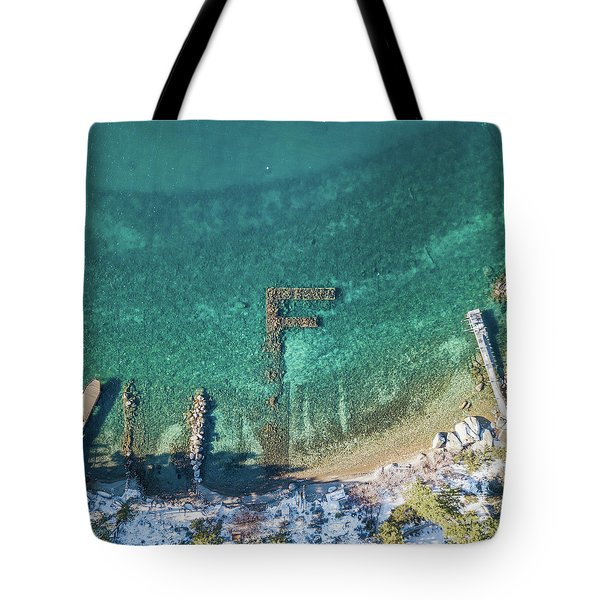 F Marks The Spot Tote Bag