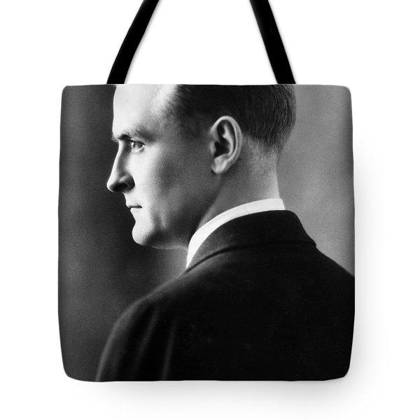 F. Scott Fitzgerald Circa 1925 Tote Bag