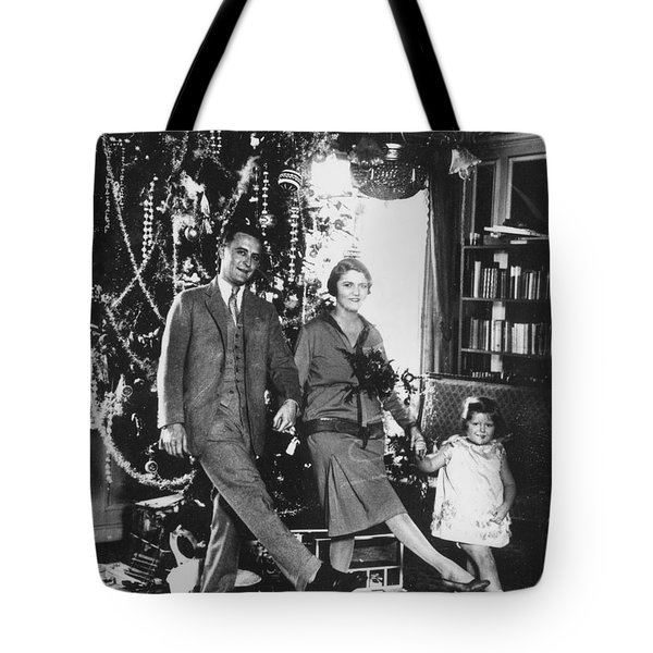 F. Scott Fitzgerald Family Tote Bag by Granger
