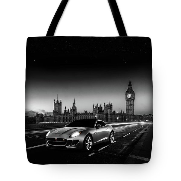 F-type In London Tote Bag