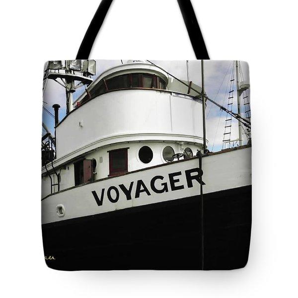 F V Voyager Tote Bag