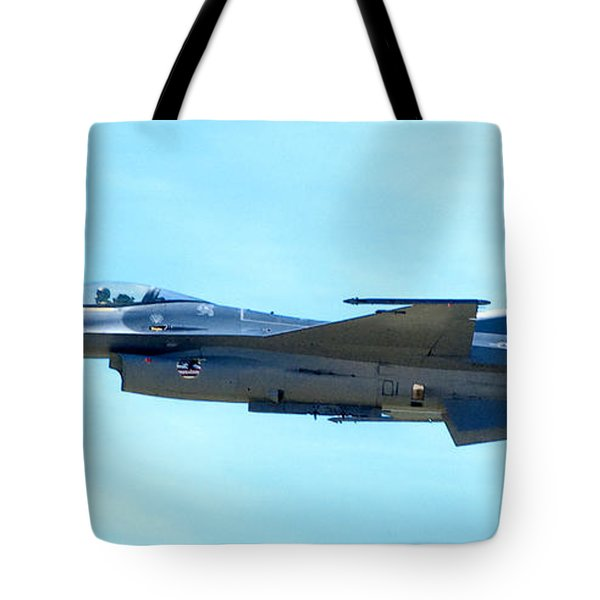 F16 Tote Bag by Greg Fortier